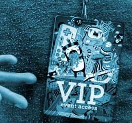Custom Event Passes / VIP Passes