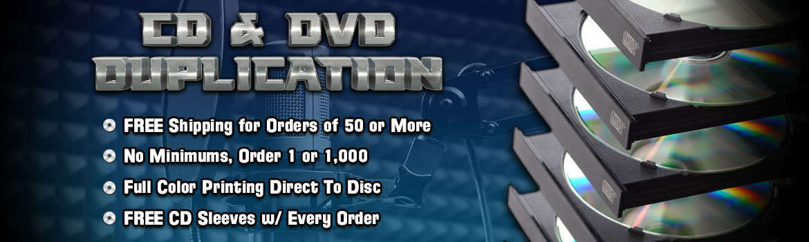 CD Duplication / DVD Duplication & Printing