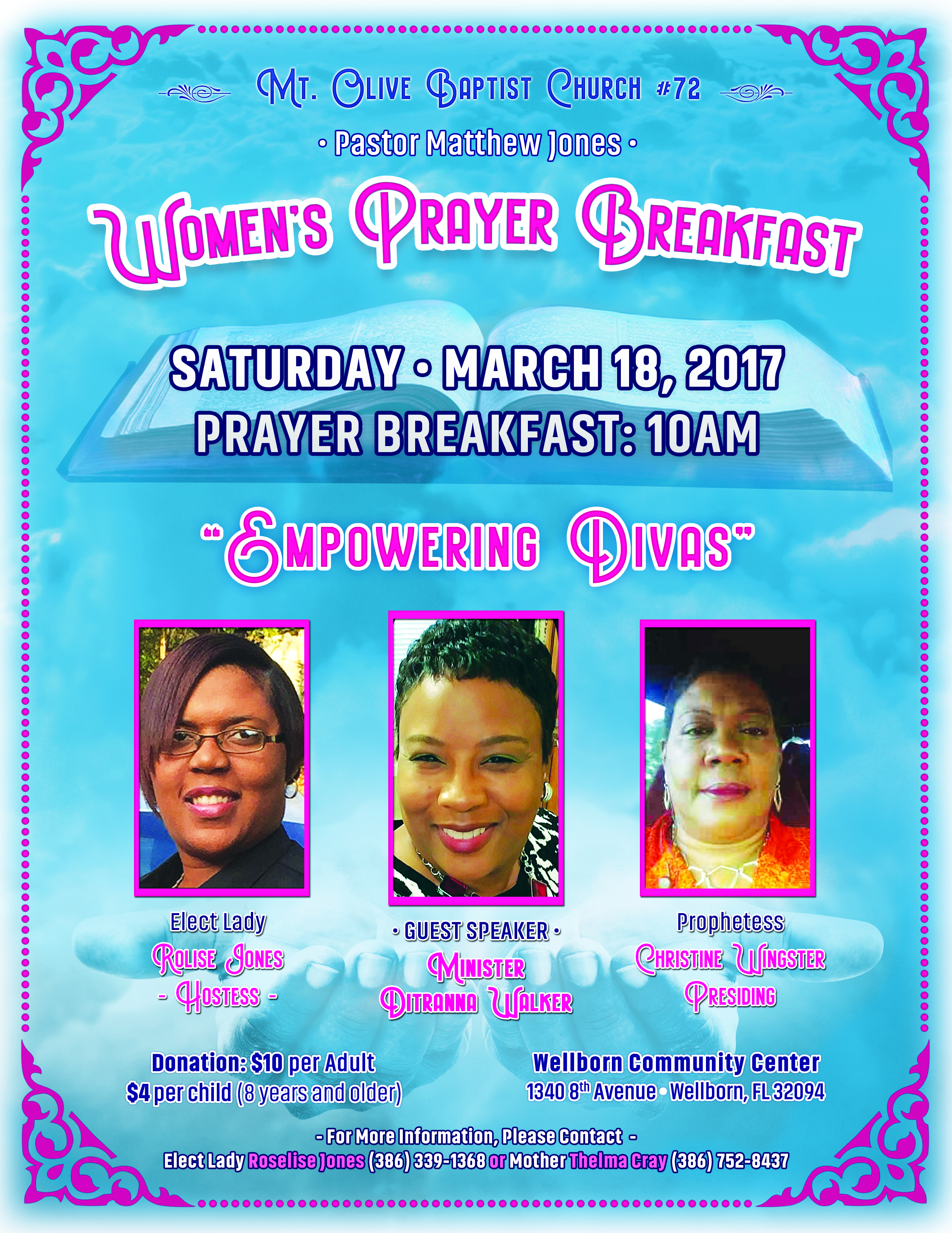 Flyer Design: Prayer Breakfast
