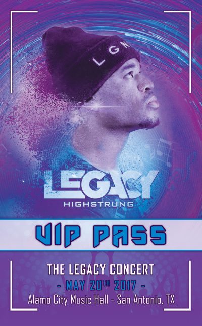 Event VIP Pass Design
